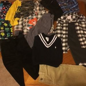 Lot of toddler boys clothes 18-24 months